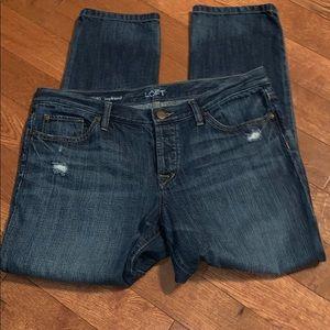 $bogo$ LOFT Ann Taylor boyfriend jeans size 30/10